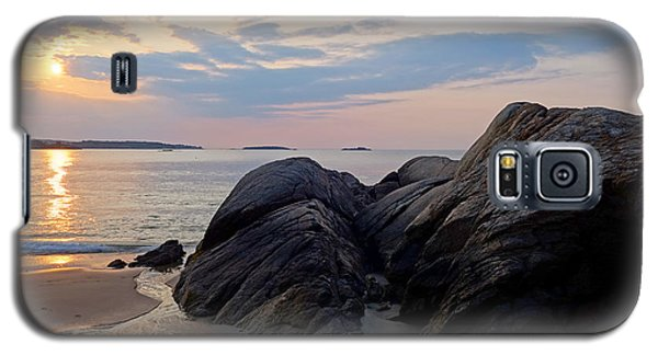 Singing Beach Rocky Sunrise Manchester By The Sea Ma Galaxy S5 Case