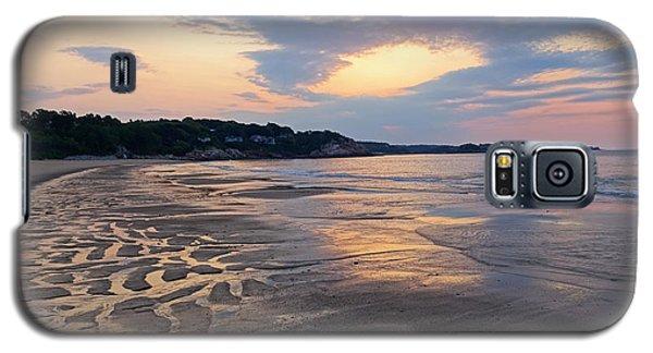 Singing Beach Sandy Beach Manchester By The Sea Ma Sunrise Galaxy S5 Case