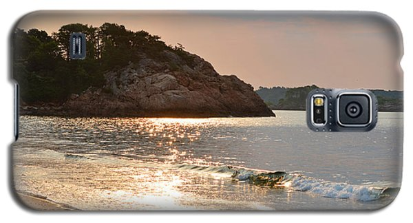 Singing Beach Silver Waves Manchester By The Sea Ma Galaxy S5 Case