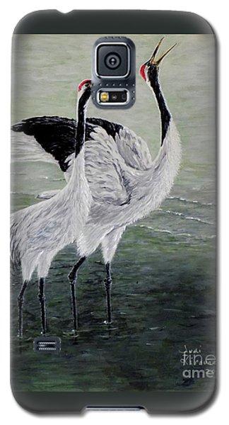 Singing Cranes Galaxy S5 Case