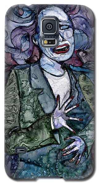 Singing Lady-blues Galaxy S5 Case