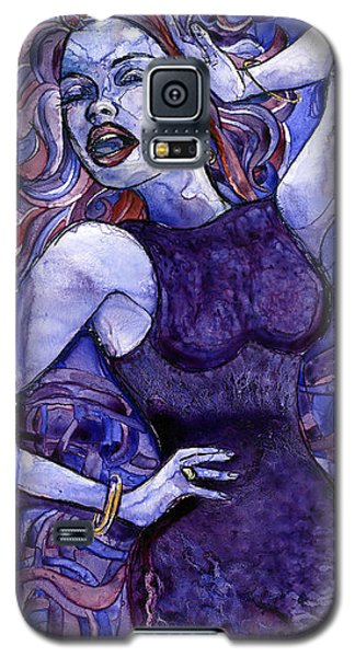 Singing Lady- Jazz Galaxy S5 Case