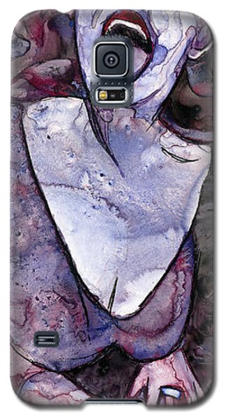 Singing Lady-rock And Roll Galaxy S5 Case