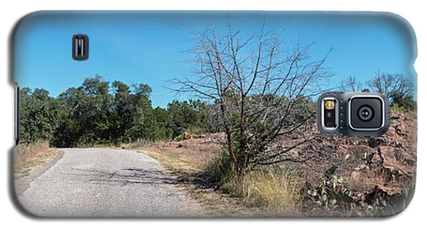 Single Lane Road In The Hill Country Galaxy S5 Case