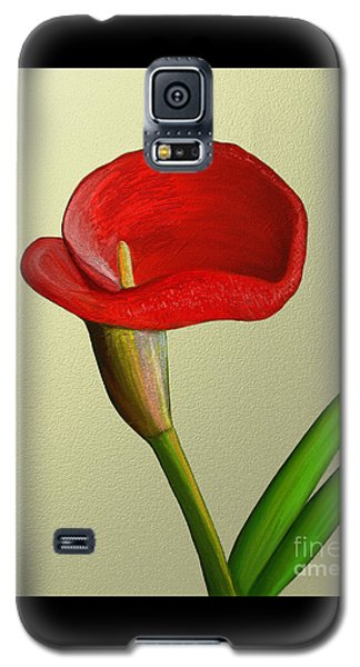 Galaxy S5 Case featuring the painting Single Pose by Rand Herron