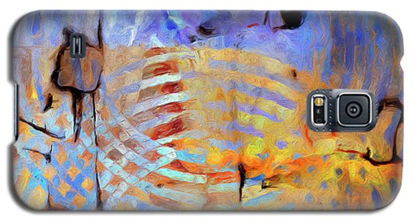 Galaxy S5 Case featuring the painting Singularity by Dominic Piperata