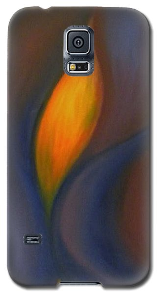 Galaxy S5 Case featuring the painting Sinuous Curves by Fanny Diaz