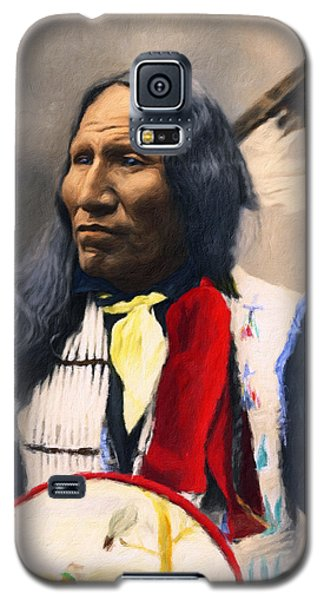 Sioux Chief Portrait Galaxy S5 Case