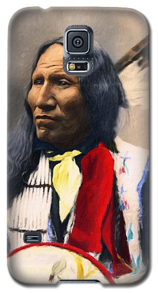 Sioux Chief Portrait Galaxy S5 Case