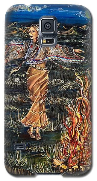 Sioux Woman Dancing Galaxy S5 Case