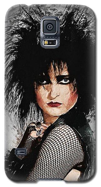 Robert Smith Music Galaxy S5 Case - Siouxsie Sioux by Zapista