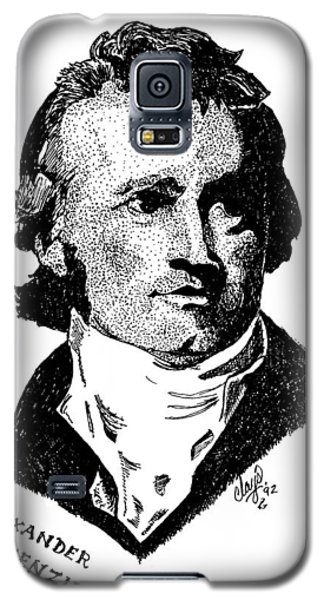 Sir Alexander Mackenzie Galaxy S5 Case