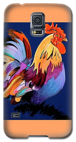 Galaxy S5 Case featuring the painting Sir Chanticleer by Bob Coonts