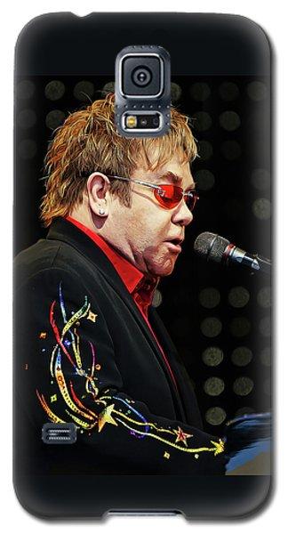 Sir Elton John At The Piano Galaxy S5 Case