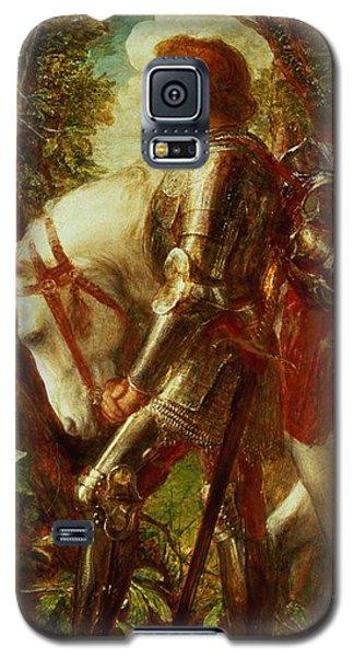 Knight Galaxy S5 Case - Sir Galahad by George Frederic Watts