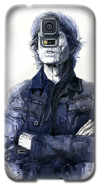 Portret Galaxy S5 Case - Sir Mick Jagger by Yuriy Shevchuk