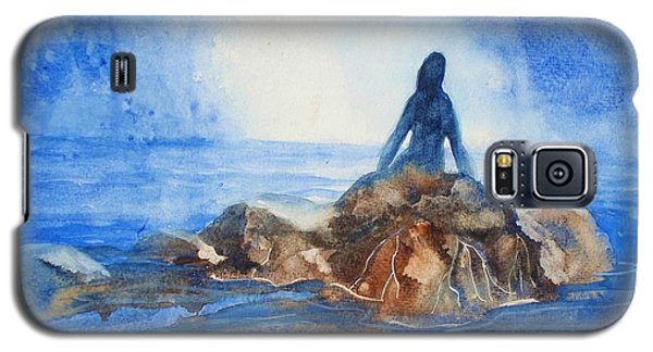 Galaxy S5 Case featuring the painting Siren Song by Marilyn Jacobson
