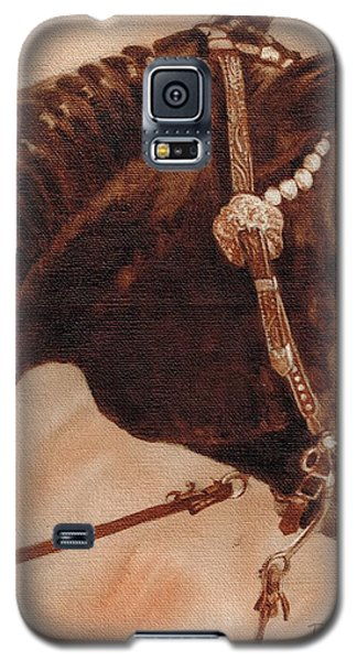 Galaxy S5 Case featuring the painting Sissy by Pam Talley