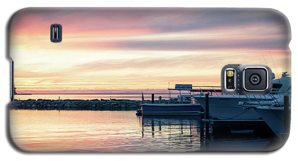 Sister Bay Marina At Sunset Galaxy S5 Case