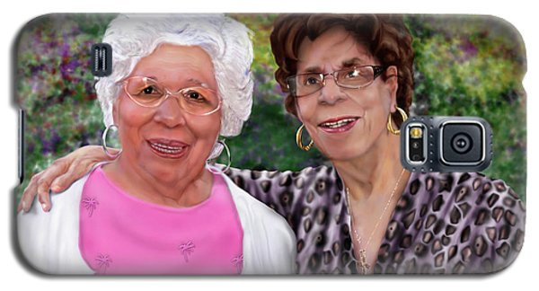 Sisters -commissioned  Galaxy S5 Case