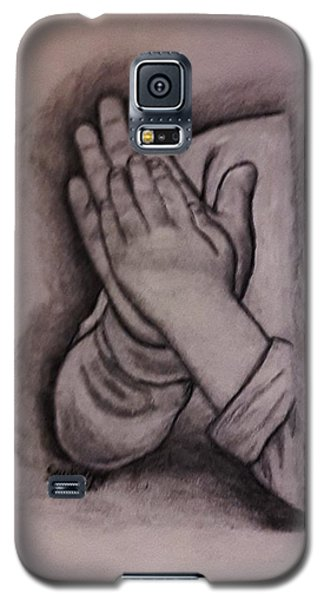 Sisters' Hands Galaxy S5 Case by Christy Saunders Church