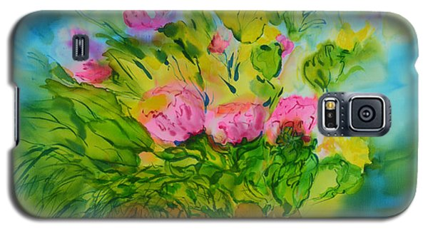 Galaxy S5 Case featuring the painting Sisters by Susan D Moody