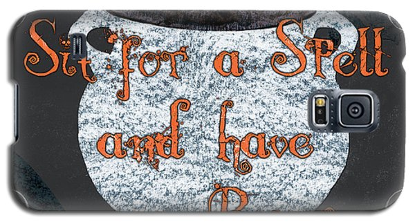 Bat Galaxy S5 Case - Sit For A Spell by Debbie DeWitt