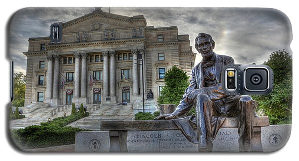 Sit With Me - Seated Lincoln Memorial By Gutzon Borglum  Galaxy S5 Case