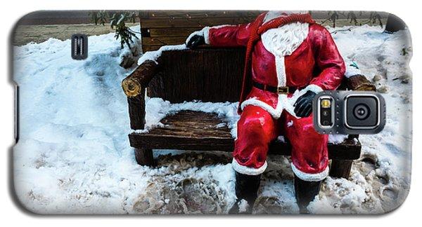 Sit With Santa Galaxy S5 Case