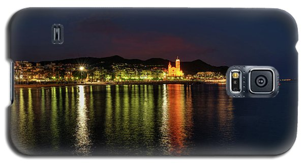 Galaxy S5 Case featuring the photograph Sitges Night 001 by Lance Vaughn