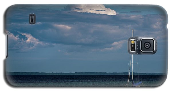 Galaxy S5 Case featuring the photograph Sittin By The Bay by Onyonet  Photo Studios