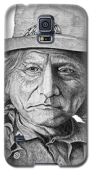 Sitting Bull Galaxy S5 Case by Lawrence Tripoli