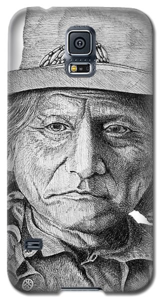 Sitting Bull Galaxy S5 Case by Lawrence Tripoli