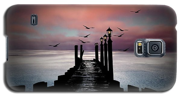 Sitting On The Dock Of The Bay Galaxy S5 Case