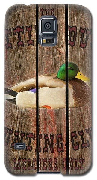 Sitting Duck Hunting Club Galaxy S5 Case