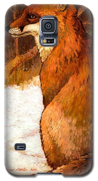 Sitting Fox Galaxy S5 Case
