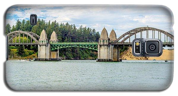 Siuslaw River Draw Bridge  Galaxy S5 Case by Dennis Bucklin
