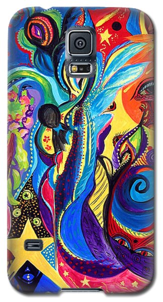 Guardian Angel Galaxy S5 Case by Marina Petro