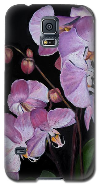 Six Orchids Galaxy S5 Case by Sandra Nardone