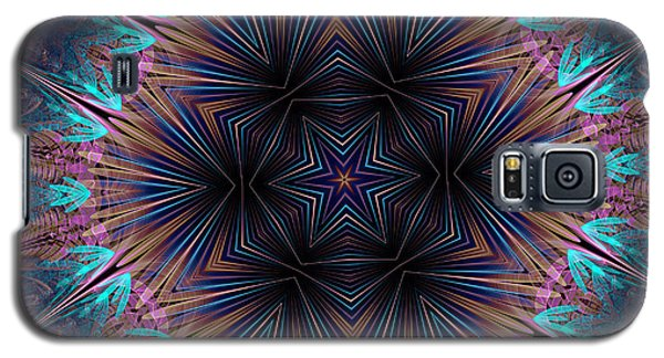 Six Petal Star Kaleidoscope Galaxy S5 Case