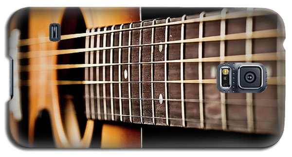 Six String Guitar Galaxy S5 Case by  Onyonet  Photo Studios