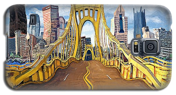 Sixth Street Bridge, Pittsburgh Galaxy S5 Case
