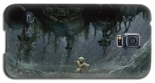 Star Wars Galaxy S5 Case - Size Matters Not by Ryan Barger
