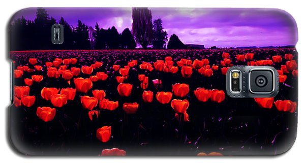 Skagit Valley Tulips Galaxy S5 Case by Eddie Eastwood
