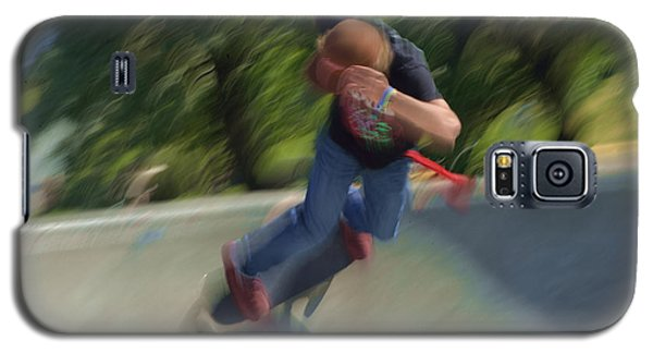Skateboard Action Galaxy S5 Case by Kae Cheatham