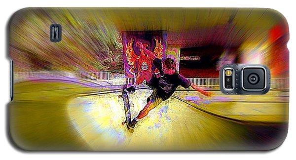 Galaxy S5 Case featuring the photograph Skateboarding by Lori Seaman