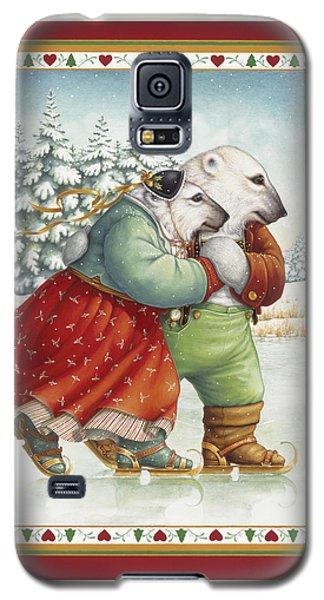 Skating Bears Galaxy S5 Case