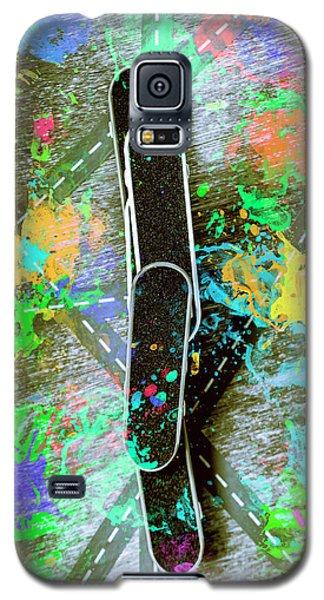Skating Pop Art Galaxy S5 Case