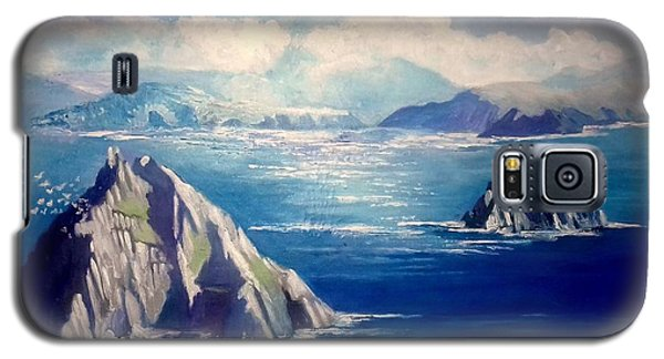 Skelligs Ireland Galaxy S5 Case by Paul Weerasekera