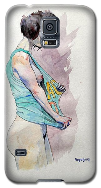 Sketch For Ac-dc Galaxy S5 Case by Ray Agius